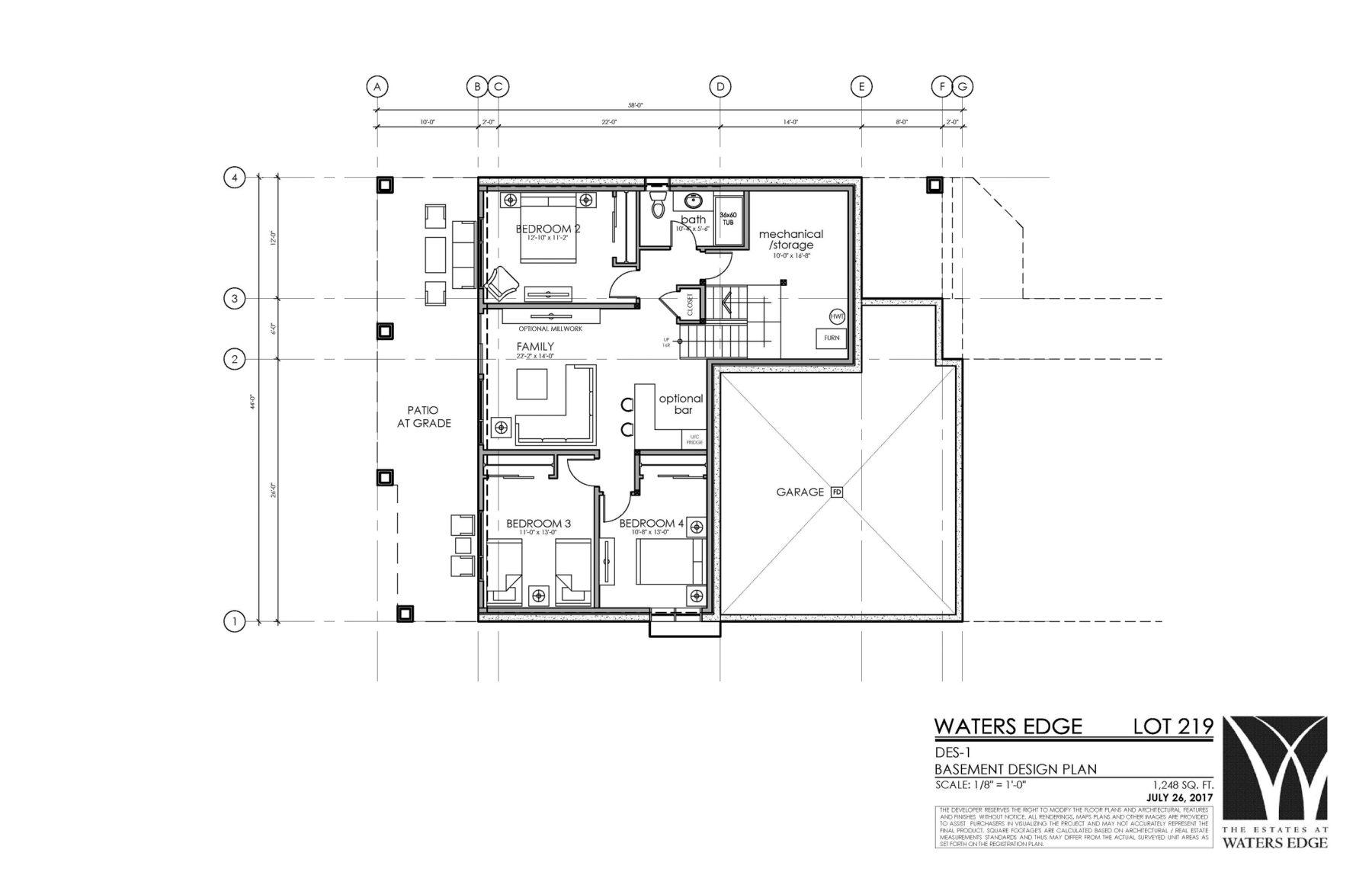 Basement | 1248 sq ft