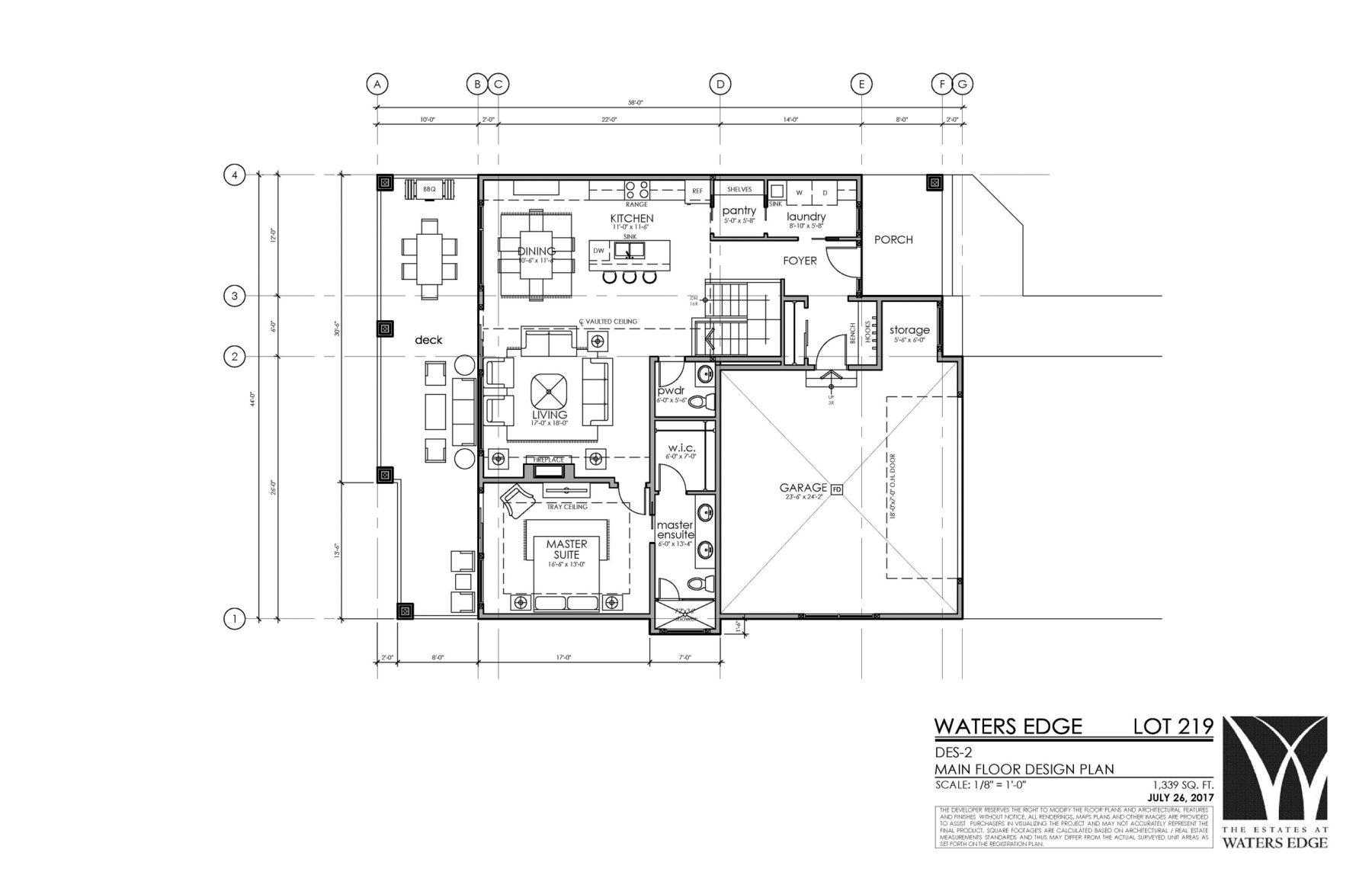 Main Floor | 1339 sq ft