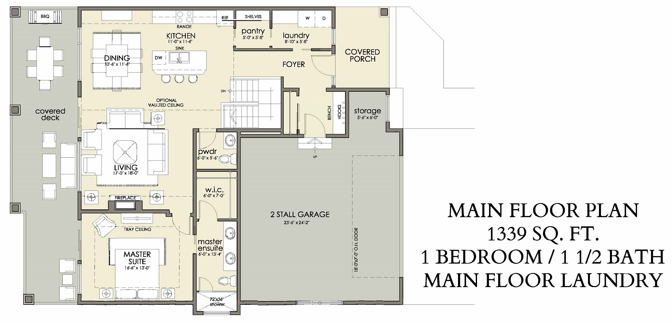 Main Floor | 1339 sq ft