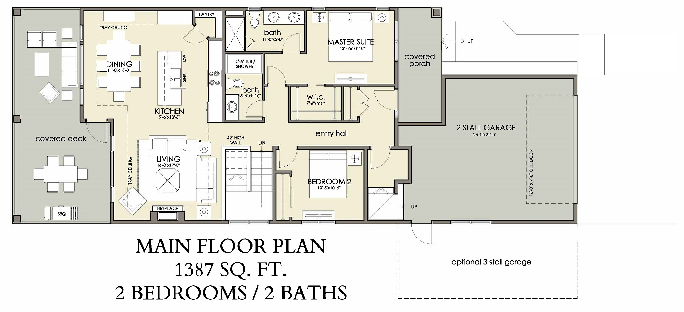 Main Floor | 1387 sq ft