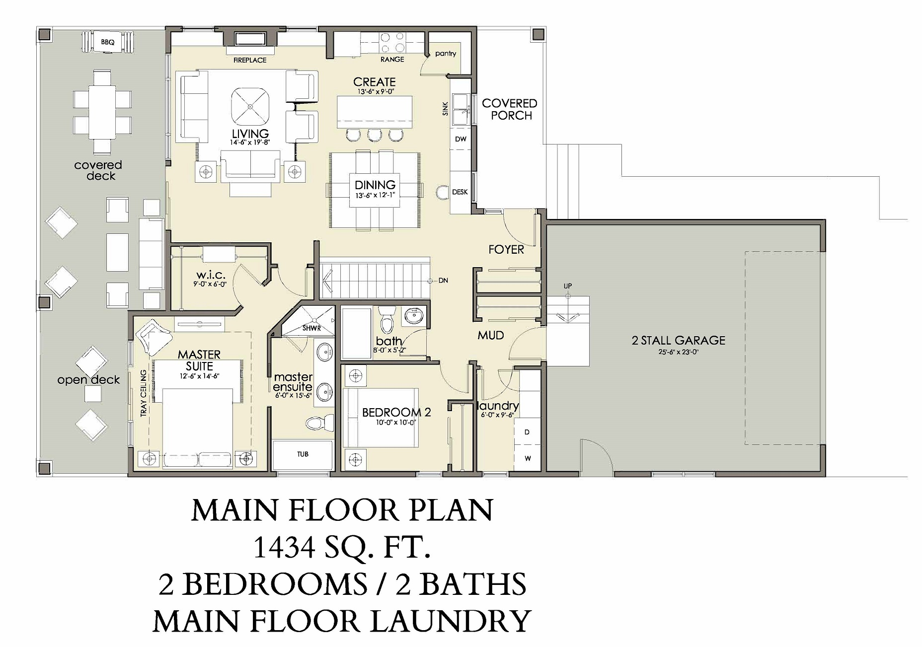 Main Floor | 1434 sq ft