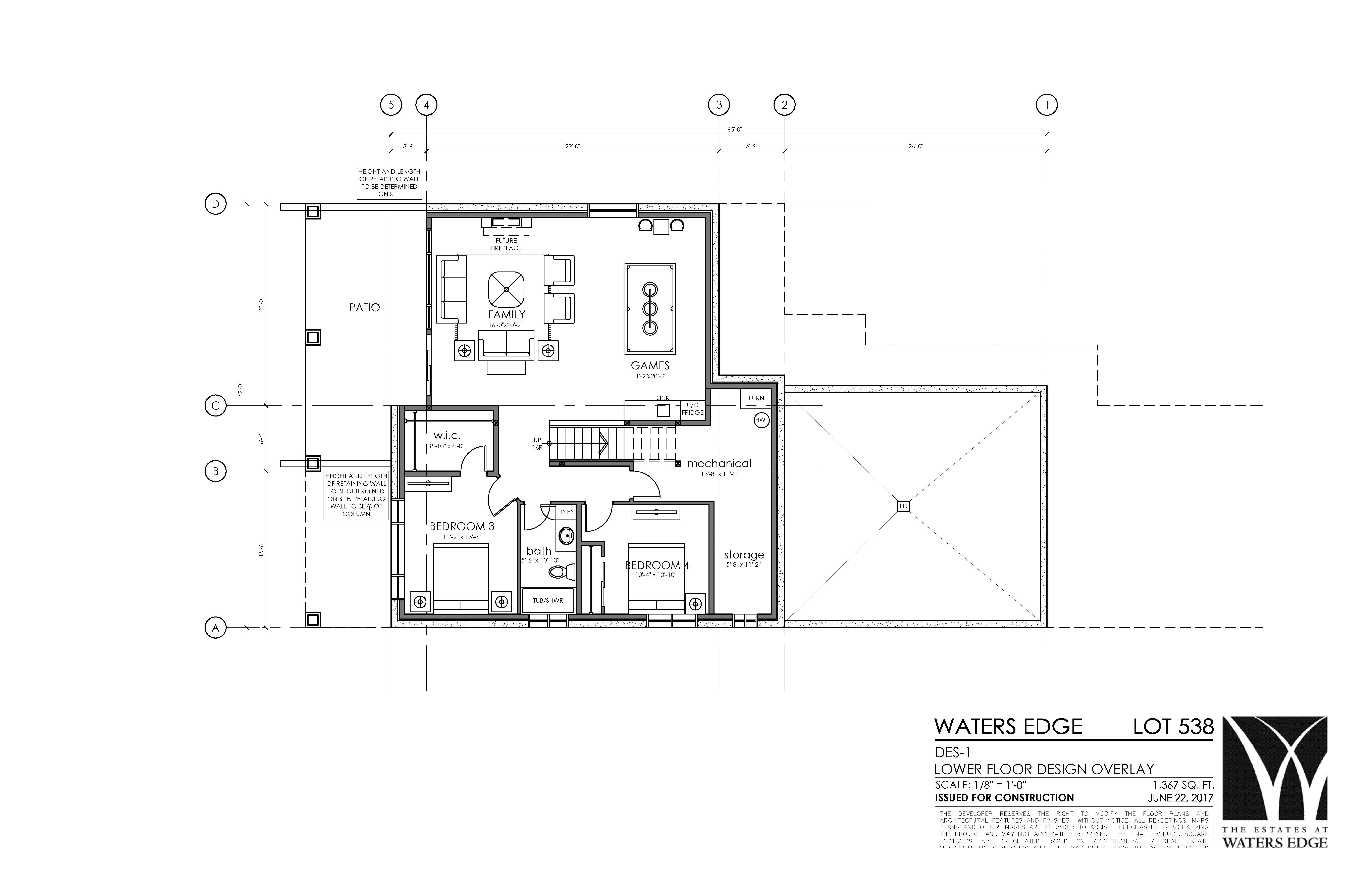 Basement | 1367 sq ft