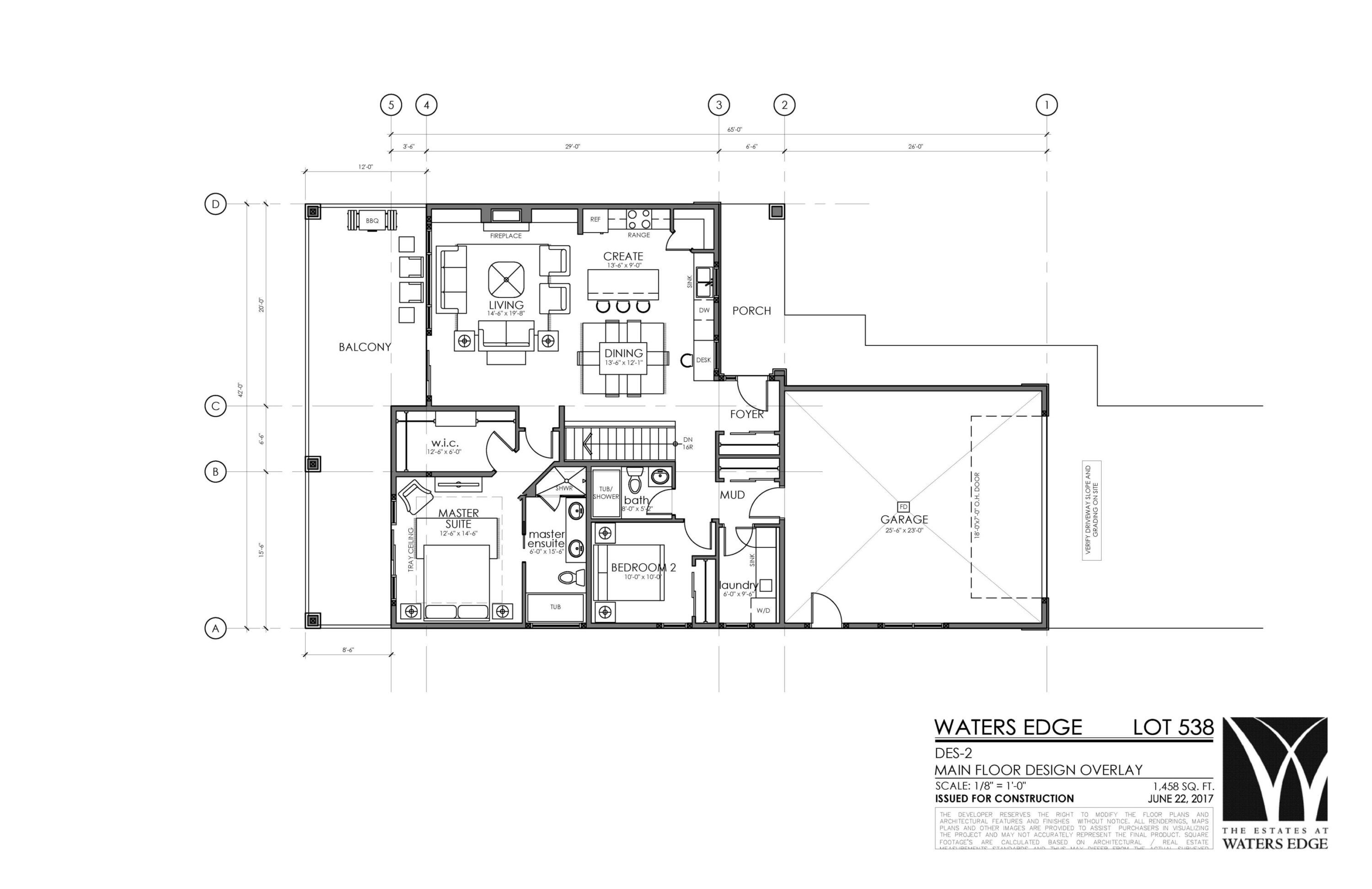 Main Floor | 1458 sq ft