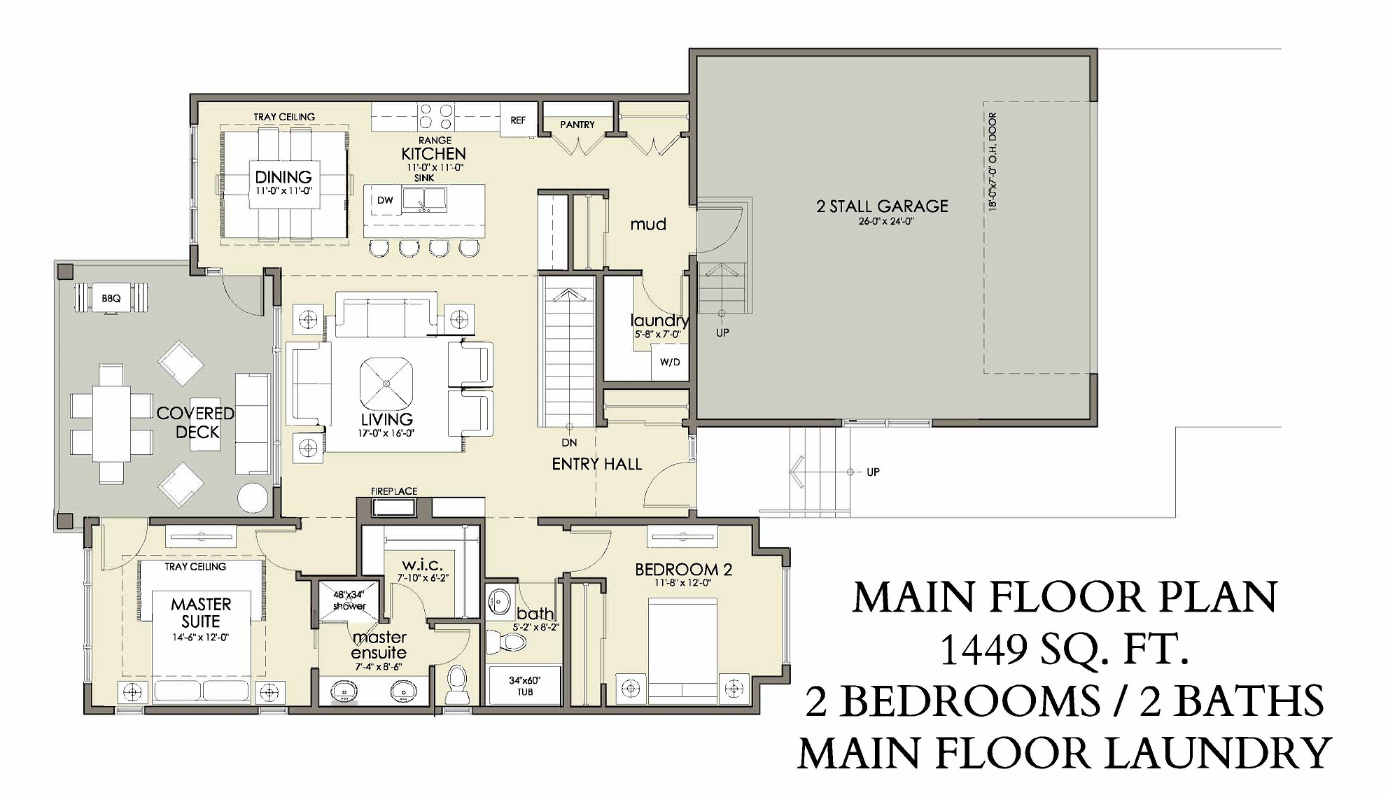 Main Floor | 1449 sq ft