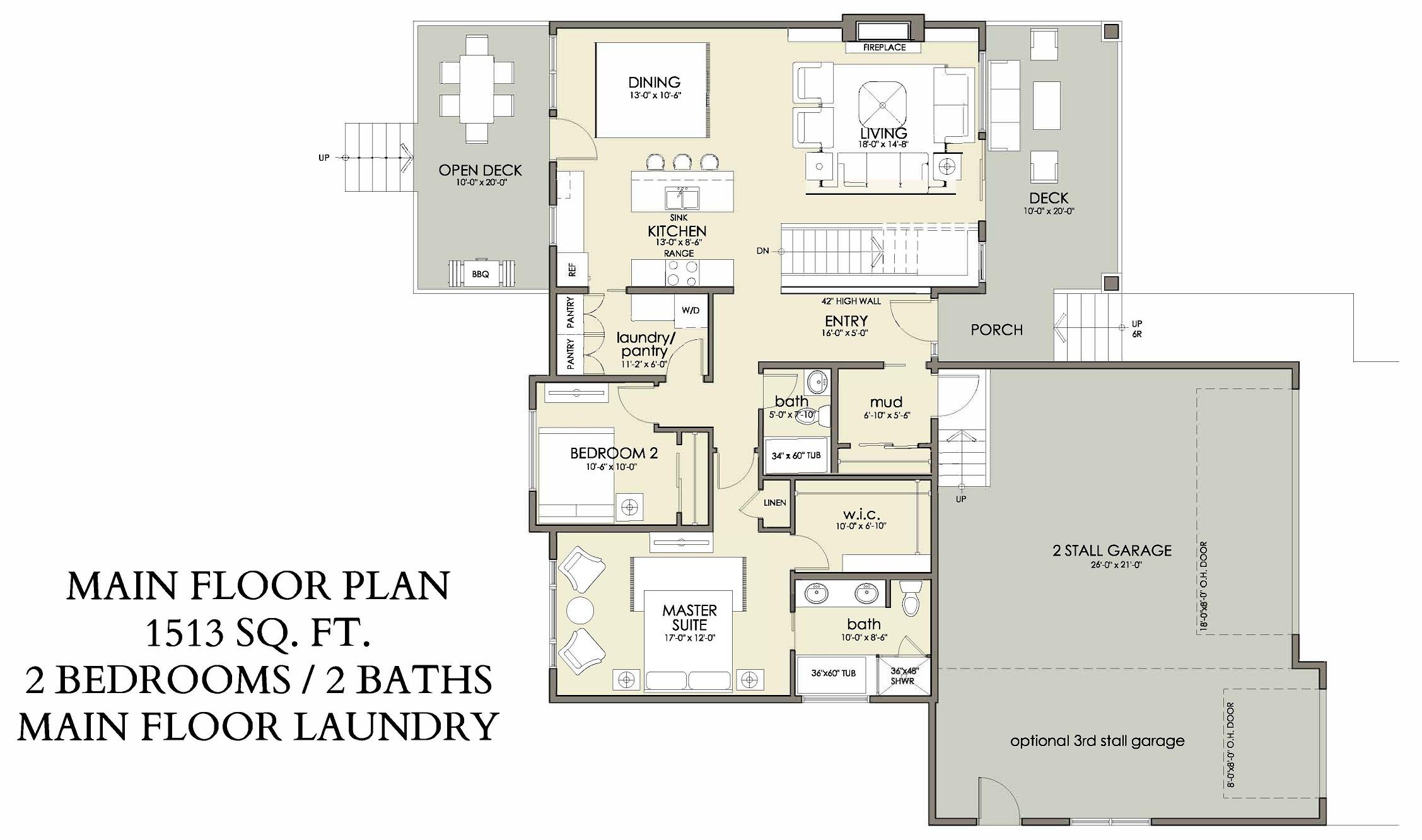 Main Floor | 1513 sq ft