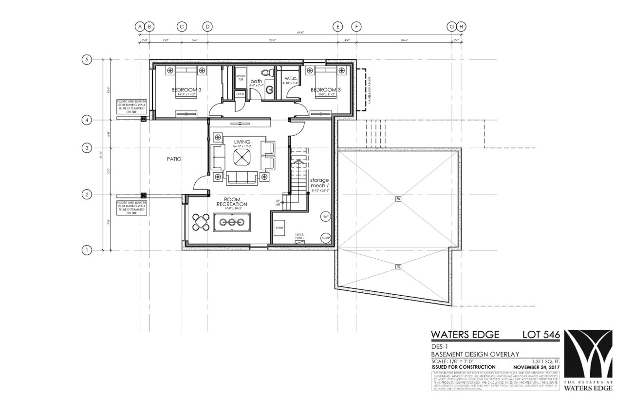 Basement | 1311 sq ft