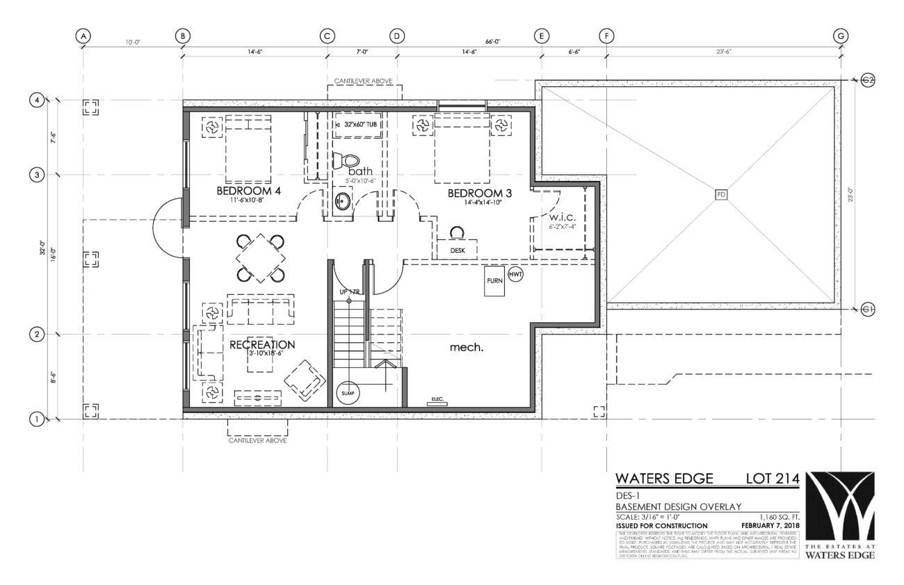 Basement | 1160 sq ft