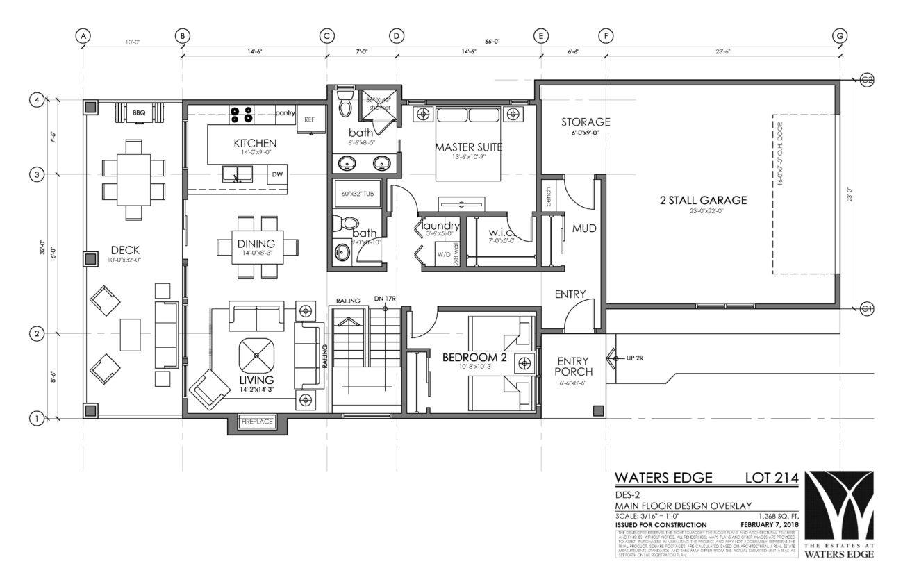 Main Floor | 1268 sq ft