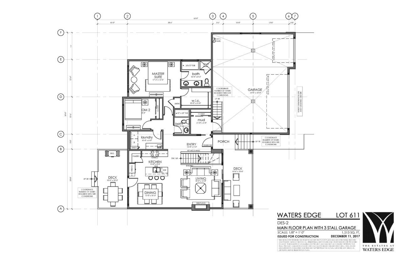 Main Floor   1513 sq ft