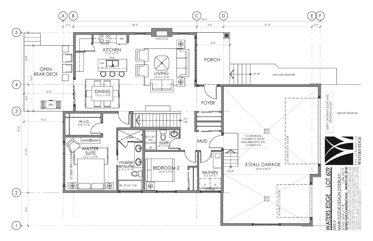 Main Floor | 1396 sq ft