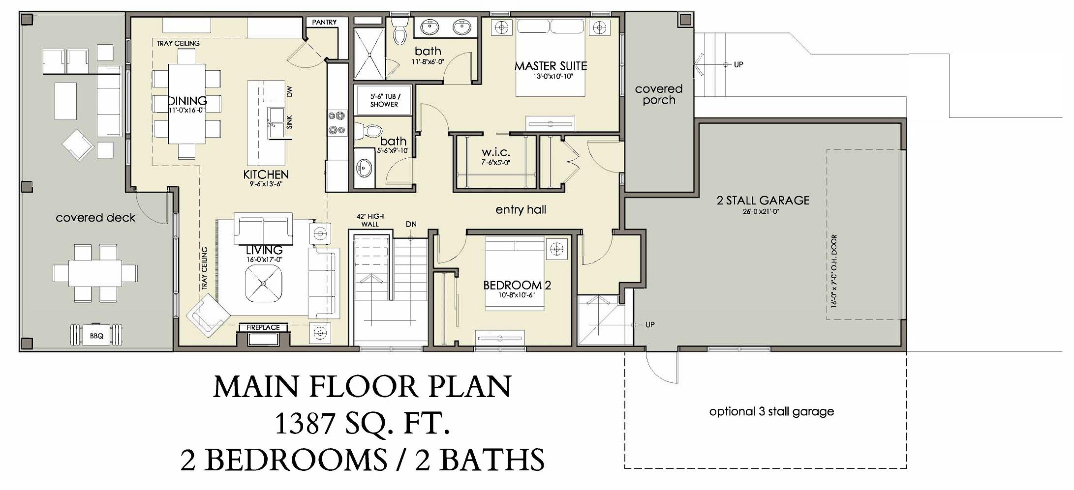 Main Floor | 1387 sq ft