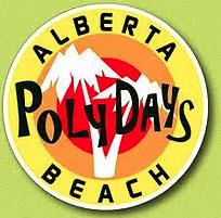 The Alberta Beach Poly Days logo